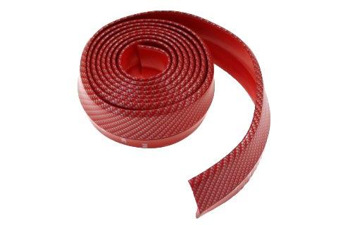Dokładka Uniwersalna 2,5m Carbon Red - GRUBYGARAGE - Sklep Tuningowy